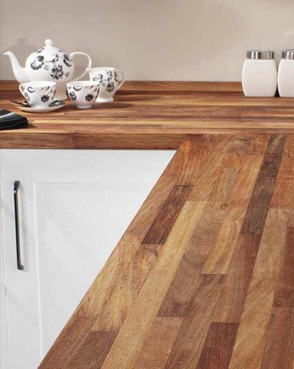 Iroko Solid Wood Panel